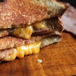 Honey Mustard & Ham Grilled Cheese
