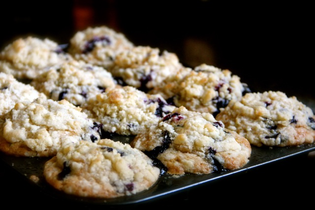 Blueberry Zucchini Muffins via Alaska from Scratch