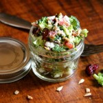 Broccoli Salad with Sunflower Seeds & Cranberries