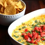 Hot Corn Queso Dip