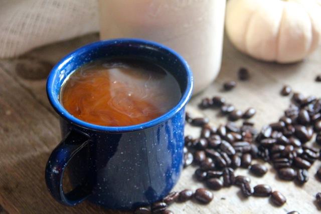 Pumpkin Spice Coffee Creamer via Alaska from Scratch