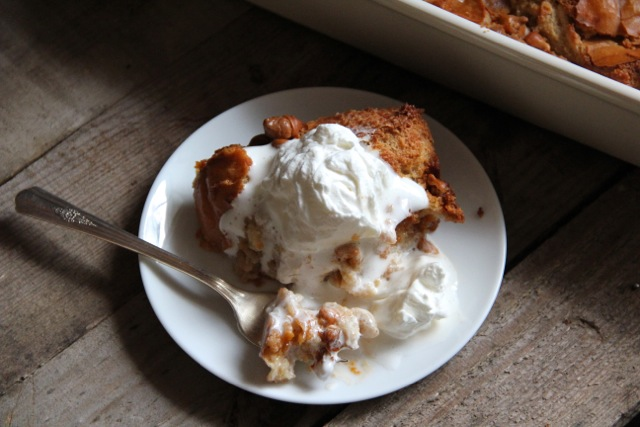 Butterscotch Bread Pudding - Alaska from Scratch
