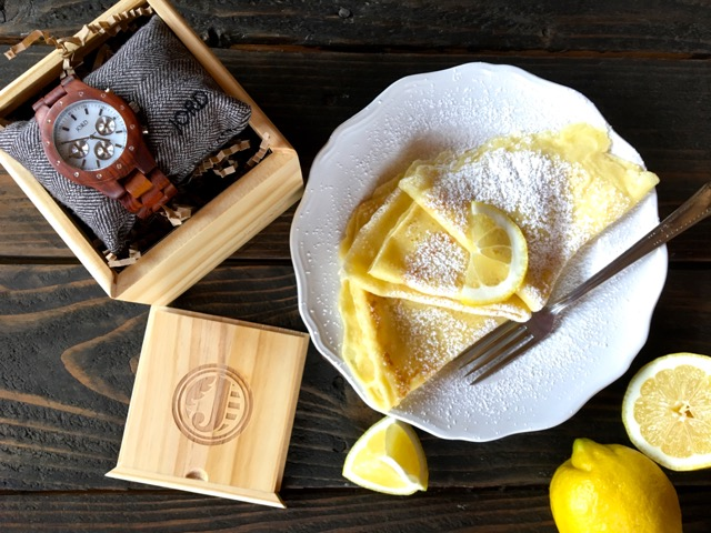 Swedish Pancakes with Lemon