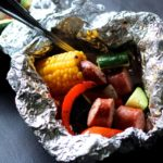 Smoked Sausage & Vegetable Foil Packet