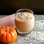 Pumpkin Spice Breakfast Smoothie