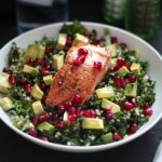 Superfood Salad with Pan-Seared Salmon