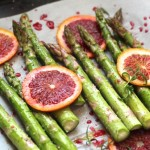 Roasted Asparagus with Blood Orange
