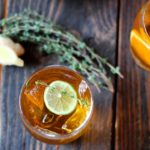 Ginger Iced Tea with Citrus & Thyme