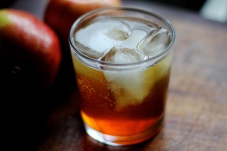 Hard Apple Cider Old Fashioned
